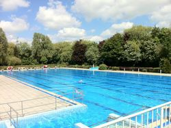 outdoor swimming pool Emden- Borssum