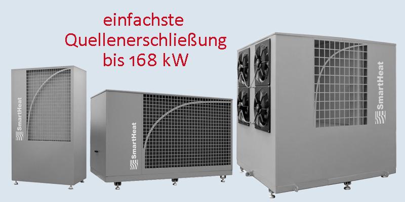 Luft/Wasser-Wärmepumpen SmartHat aero